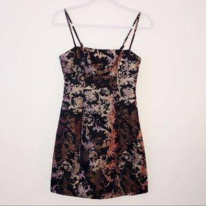 Urban Outfitters Sonia Jacquard Mini Dress Size XS